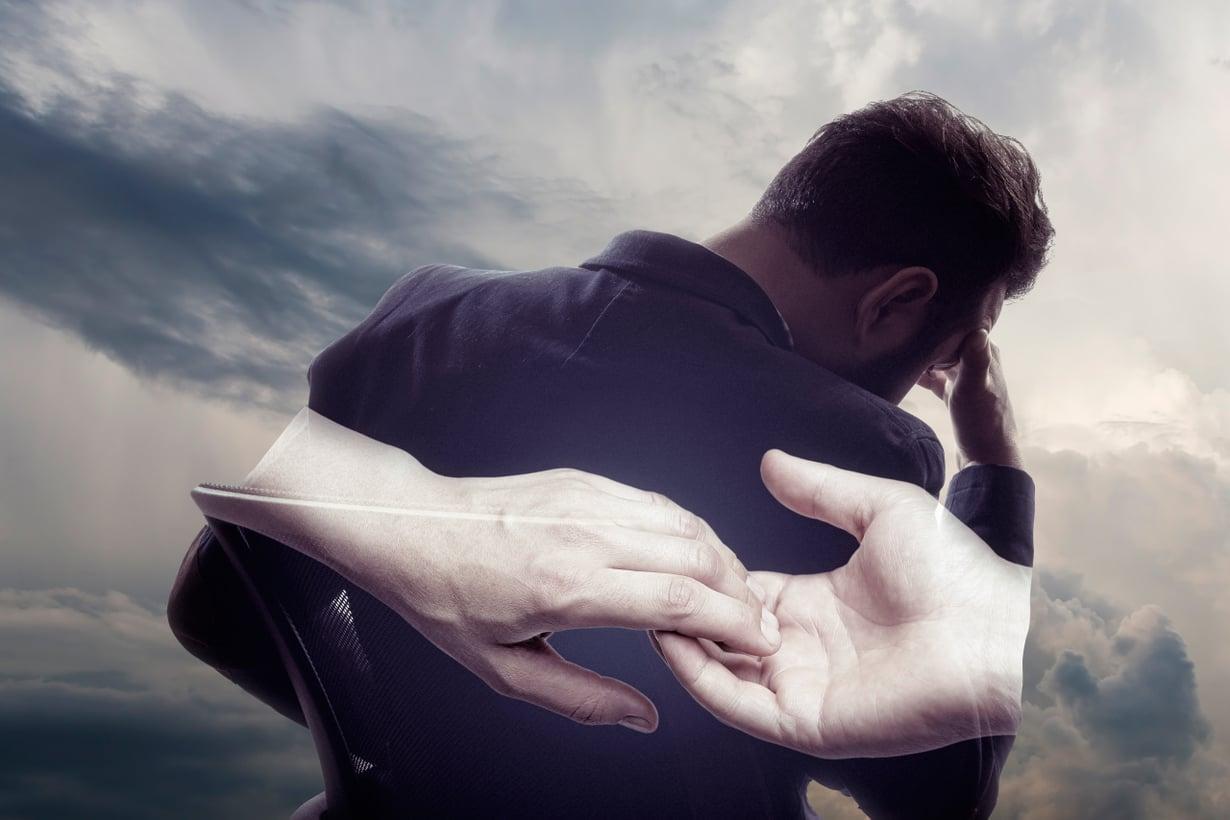 Surutyö vaatii aikansa, koska mieli ei kykene heti edes ymmärtämään tapahtunutta. Kuva: Shutterstock