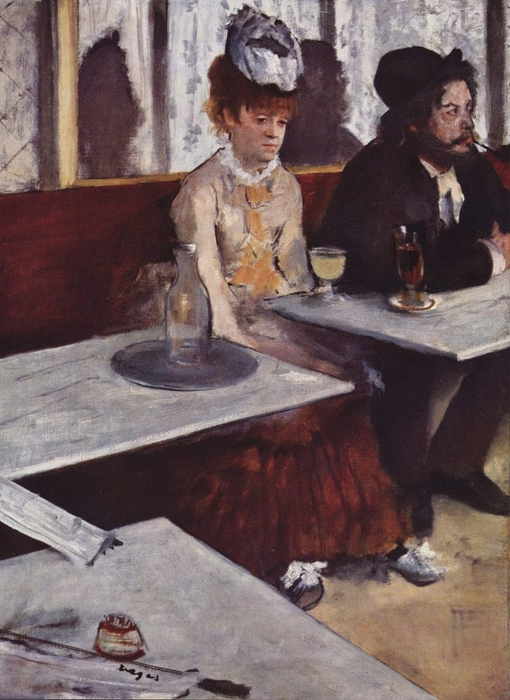 Edgar Degas: L'Absinthe.