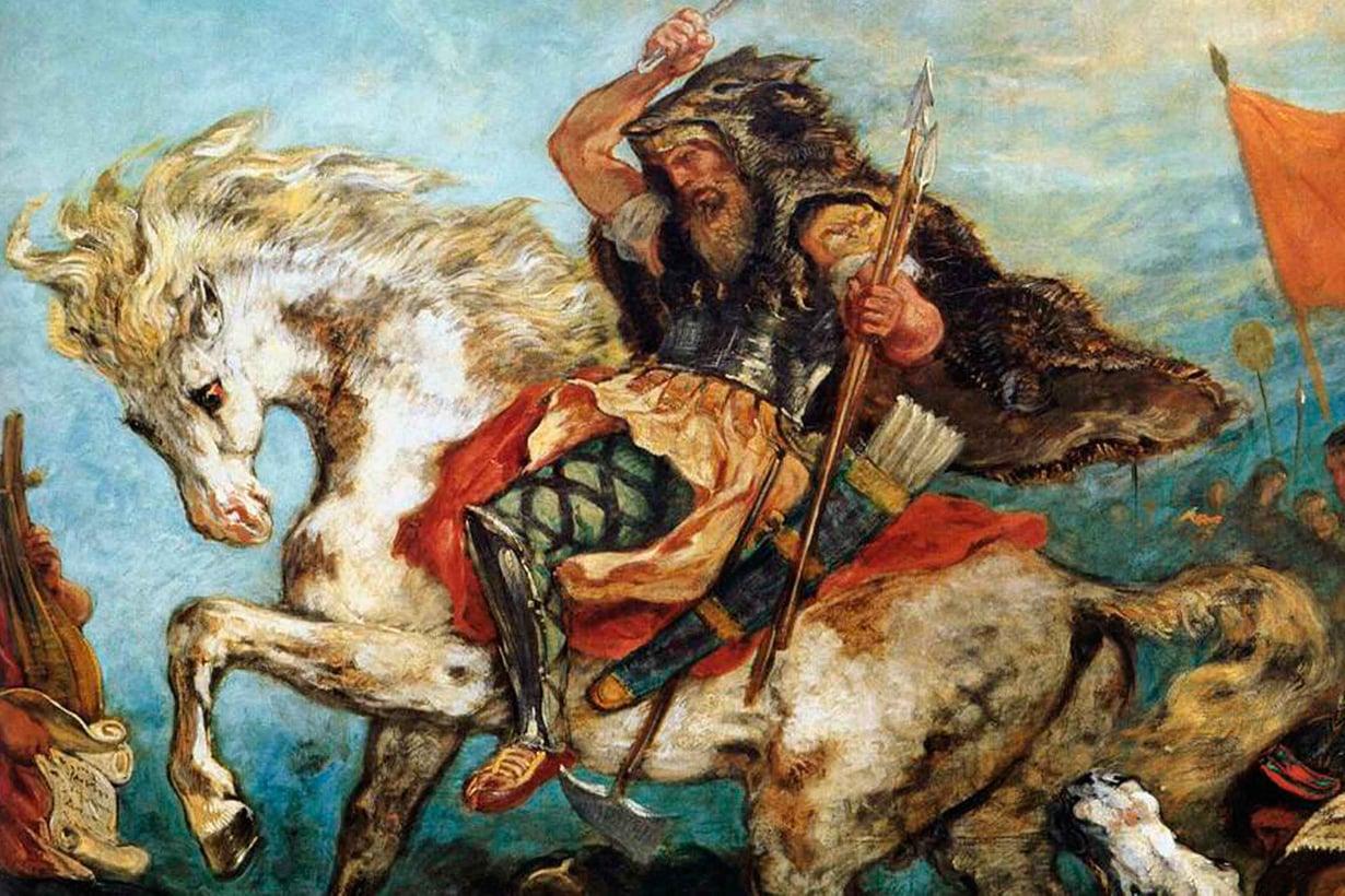 Attila johti hunneja, jotka ahdistelivat niin Itä- kuin Länsi-Roomaa 400-luvun puolivälissä. Kuva: Web Gallery of Art / Wikimedia Commons