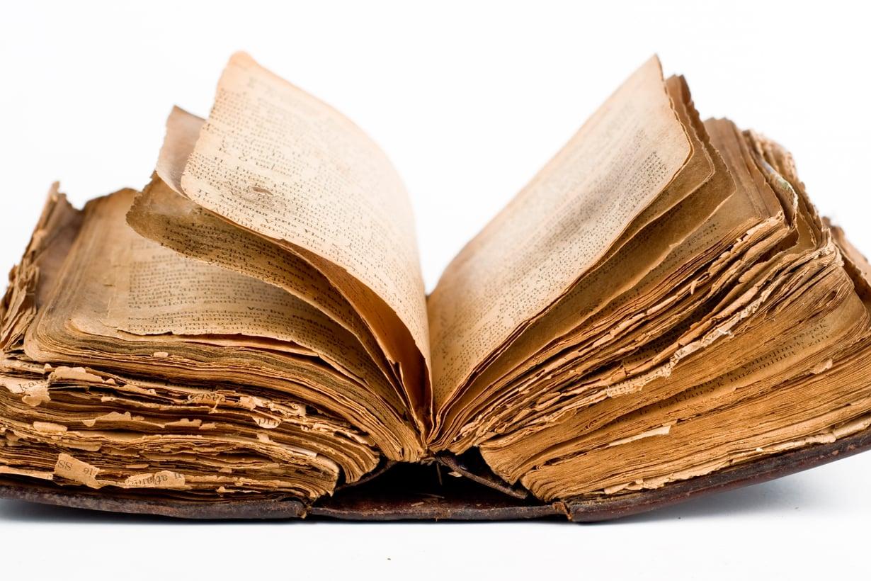 Tarvitsemme vanhaa tietoa yhteyksien rakentamiseen. Kuva: Shutterstock