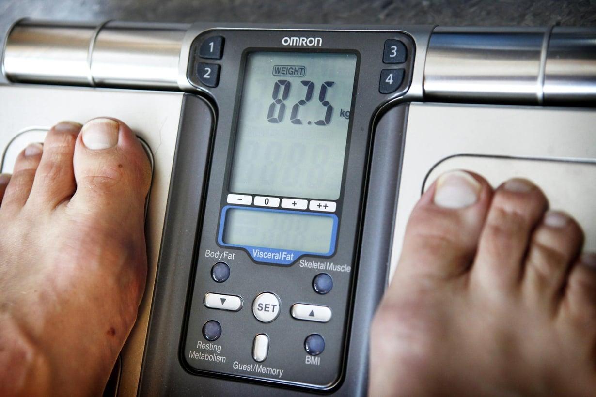 Omaa tai lapsensa ylipainoa moni ei tiedosta. Kuva: Juhani Niiranen