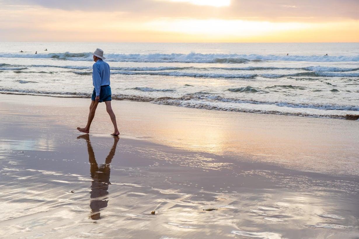 Australialaiset miehet elävät pitkään, jos elinikää tarkastellaan uudella tavalla. Kuva: Shutterstock