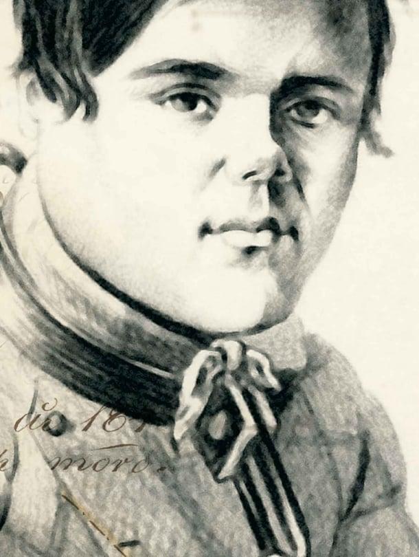 """Juhani Adaminpoika surmasi 12 ihmistä vuonna 1849. Kuva: <span class=""""photographer"""">Kansallisarkisto</span>"""