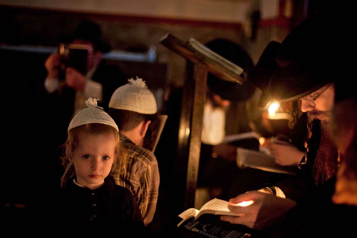 Juutalaisia on alistettu ja vainottu niin paljon, että heillä on erityinen muistelupäivä historian suruille. Kuva: Getty Images
