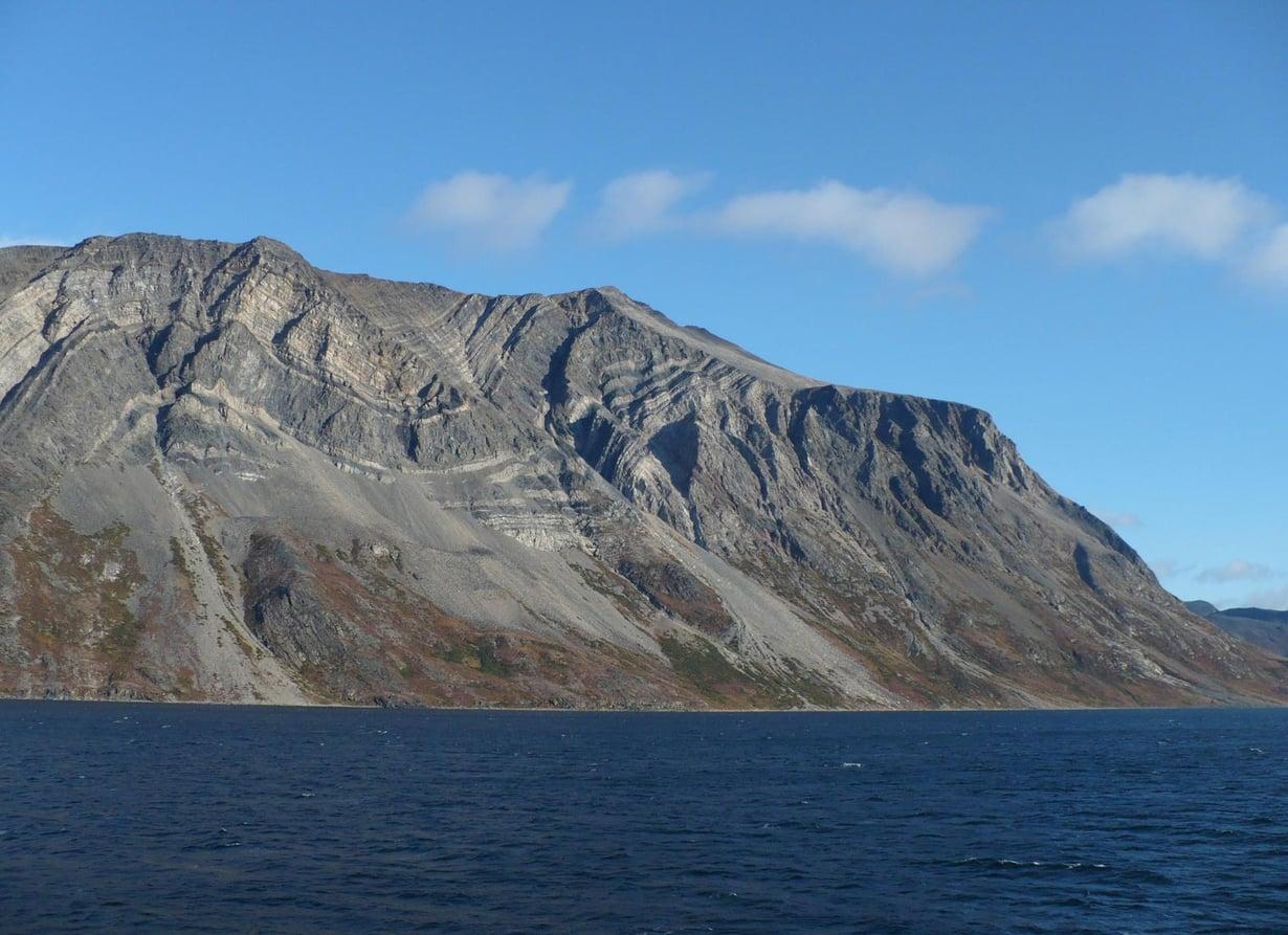 Maailman vanhinta elämää löytyi täältä Labradorin alueen kivistä. Kuva: Paul Gierszewski / Wikimedia Commons