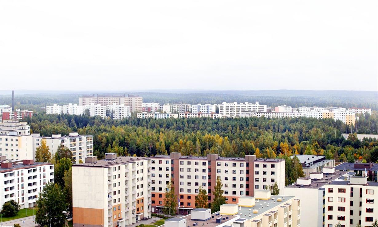 Tasa-arvoinen asuntopolitiikka piti köyhät ja varuaat lähekkäin – lamaan asti. Sen jälkeen se ei ole riittänyt torjumaan eriarvoistumista. Kuva: Pekka Sakki / Lehtikuva