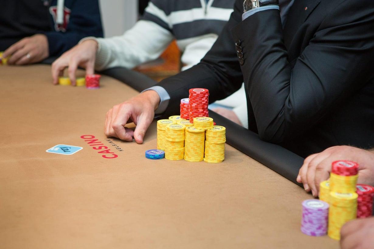 Kone on paras pokerissakin. Kuva: Terhi Ylimäinen