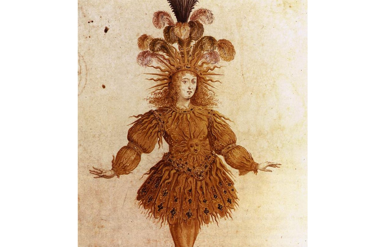 Ludvig XIV:tä ylistettiin balettirooleistaan aurinkona ja auringonjumalana. Hän sai lisänimen Aurinkokuningas, Le Roi Soleil. Kuva: Alamy/MVPhotos