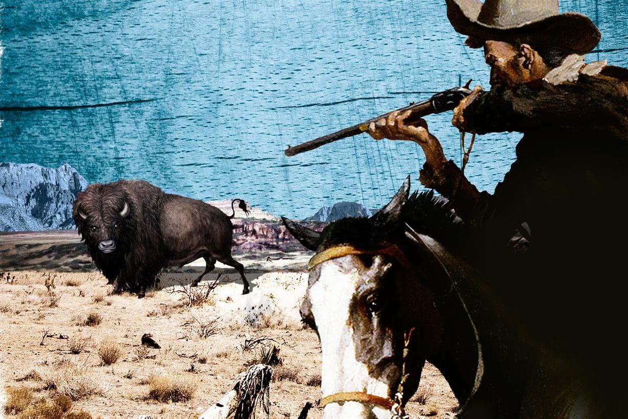 Ilmiömäinen biisoninmetsästäjä sai pian nimen Buffalo Bill. Kuva: Jussi Jääskeläinen