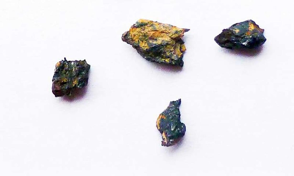 Hypatian kivi osoittautui oudommaksi kuin luultiinkaan. Kivi on palasina. Kuva: Mario di Martino / INAF Osservatorio Astrofysico di Torino
