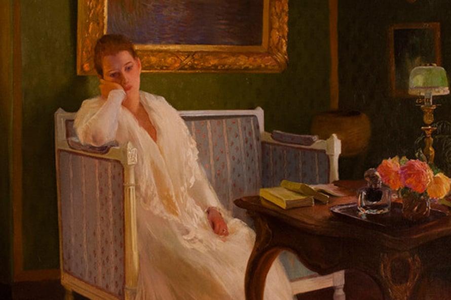 """Gaston de La Touchen maalaus Ikävystyminen vuodelta 1893. Kuva: <span class=""""photographer"""">Wikimedia Commons</span>"""