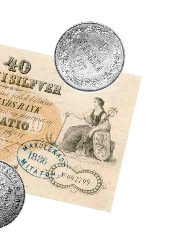 """Suomi sai oman markan 1860. Kuva: <span class=""""photographer"""">Sanoma arkisto ja Wikimedia Commons</span>"""