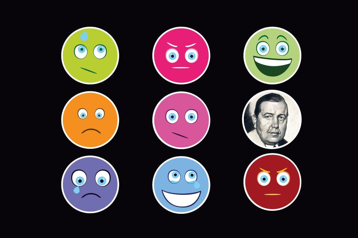 Amerikansuomalainen Emil Hurja neuvoi mielipidemittausten tekoa gallupeillaan kuuluisuuteen nousseelle George Gallupille. Kuva: Shutterstock ja Time Magazine (March 2, 1936)