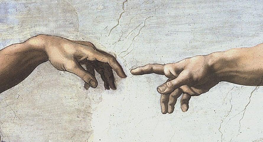 Yksityiskohta Michelangelon teoksesta