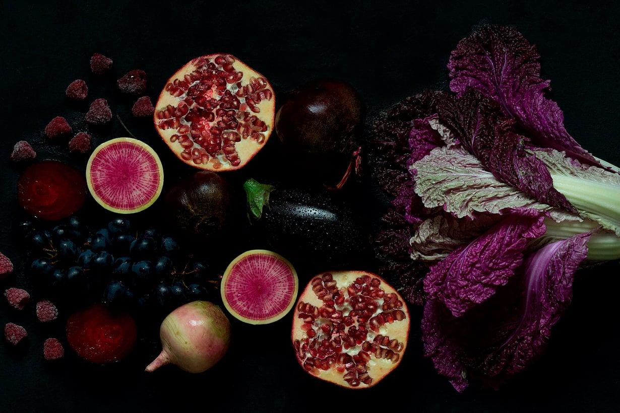 Luonnon skaala päättyy violettiin. Kuva: Shutterstock