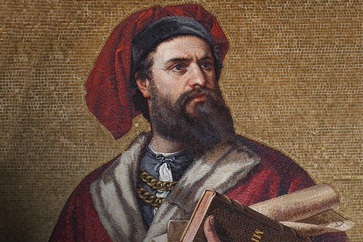 Marco Polon matkakertomuksesta tuli maailman ensimmäinen bestseller. Se ilmestyi 12 kielellä – 150 vuotta ennen ensimmäistäkään kirjapainoa. Kuva: Alamy/MVPhotos