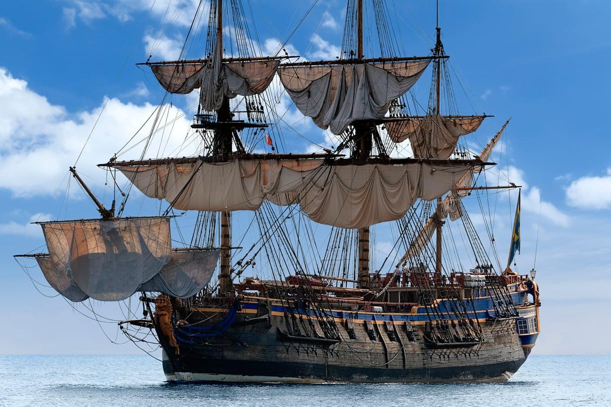 Alus on laivaa vanhempi. Kuva: Getty Images