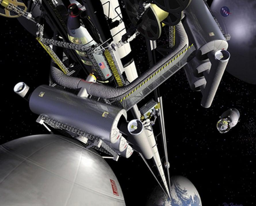 "Avaruushissi. Kuva: <span class=""photographer"">Nasa / Marshall Space Flight Center</span>"