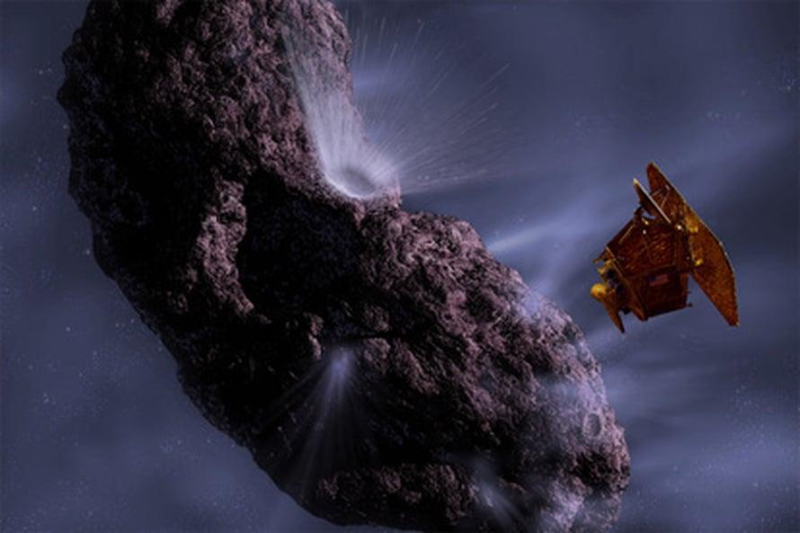 "Kuva:  <span class=""photographer"">NASA/JPL/UMD Artwork by Pat Rawlings.</span>"