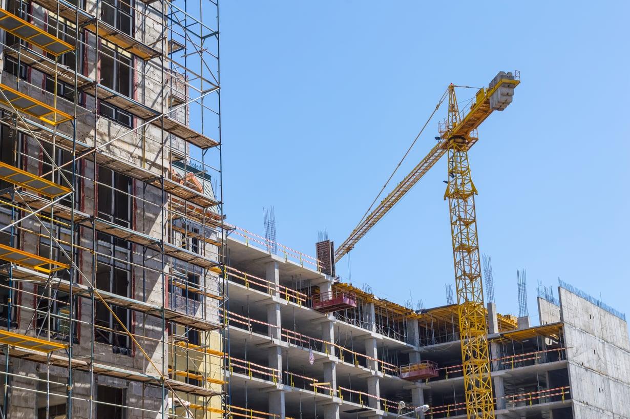 Vähemmälläkin betonilla pärjättäisiin. Kuva: Getty Images