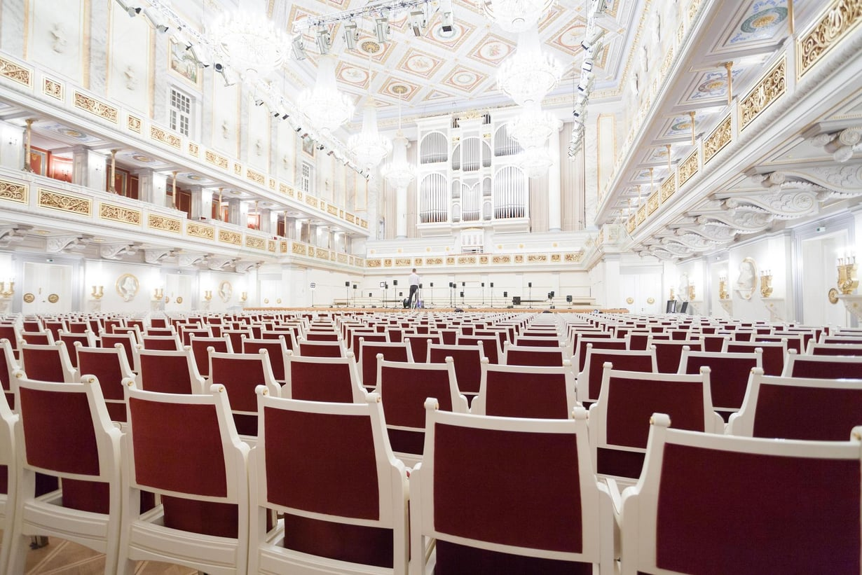 Berliinin Konzerthausissa soi vaikuttavasti. Kuva: Jukka Pätynen, Aalto yliopisto