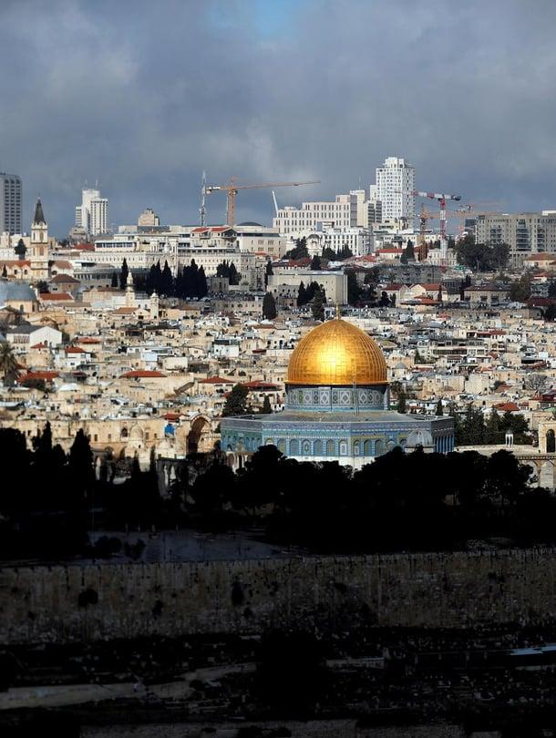 """Luolat löydettiin Jerusalemin vanhankaupungin alta. Kuva: <span class=""""photographer"""">Ammar Awad /Reuters</span>"""