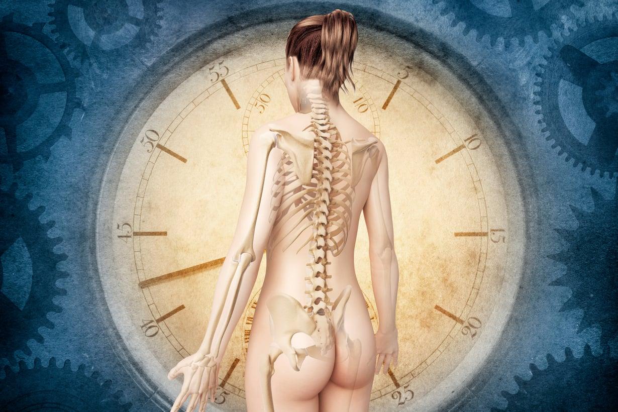 Biologinen ikä ennustaa terveyttä ja elinvuosia paremmin kuin kronologinen ikä. Kuva: Shutterstock