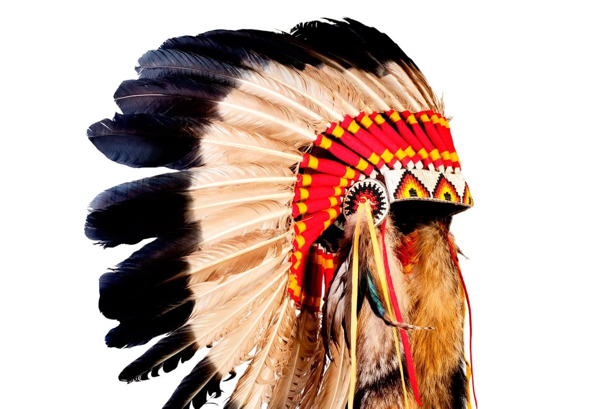 Jotkin heimot pitivät itse itseään punaisina. Kuva: iStock