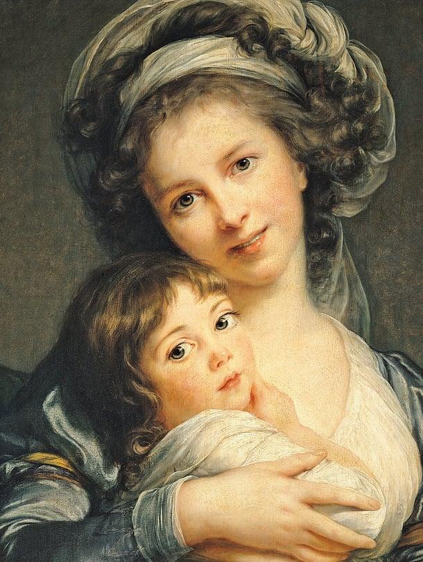 """Skandaalihymy vuodelta 1787. Rajoja rikkonut Élisabeth Vigée Le Brun ei kohua pelästynyt vaan hymyili suu raollaan seuraavassakin omakuvassaan. Kuva: <span class=""""photographer"""">AFP/MVPhotos</span>"""