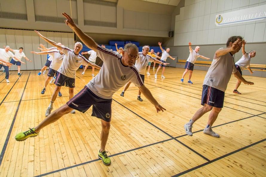"""Liikunta pitää päänkin kunnossa. Kuva: <span class=""""photographer"""">Terhi Liimu / HS</span>"""