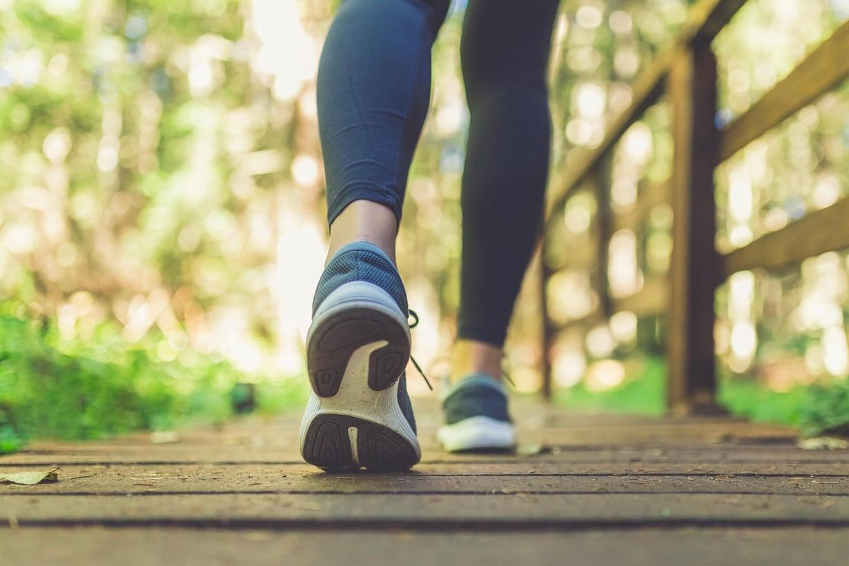Kävely pitää terveenä. Kuva: Shutterstock