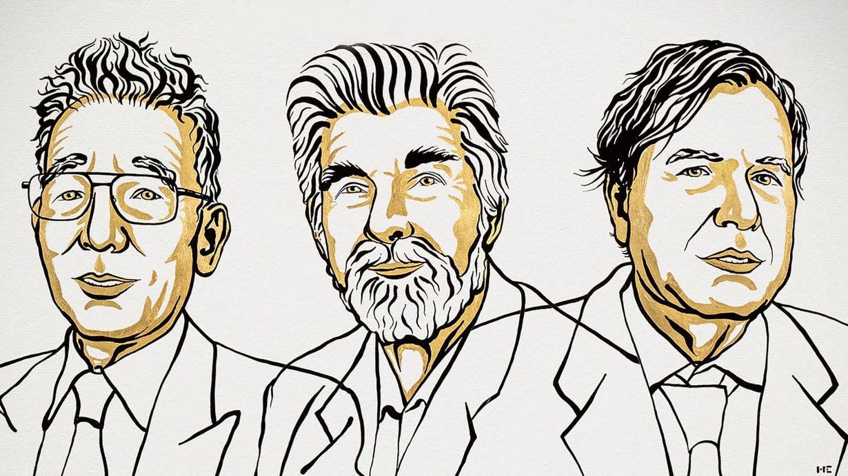 Syakuro Manabe, Klaus Hasselmann ja Giorgio Parisi.