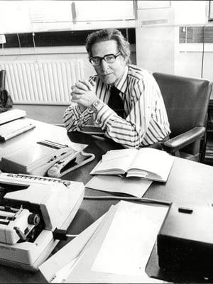 "Professori Hans Eysenck (1916–1997) kuvattuna vuonna 1977. Kuva: <span class=""photographer"">Nick Rogers/ANL/Shutterstock</span>"