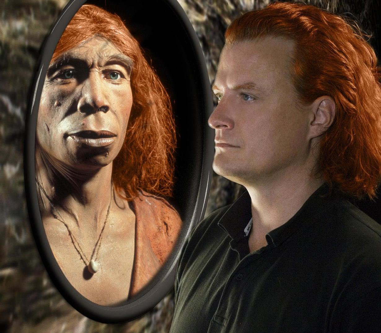 Neandertaleilta saadut geenit vaikuttavat meissä yhä. Kuva: Max Planck -instituutti