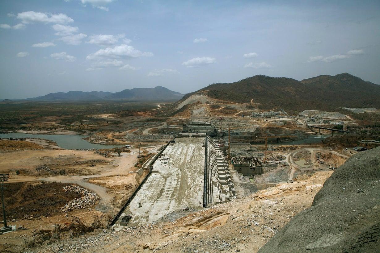 Etiopia rakentaa Afrikan kaikkien aikojen suurinta patoa Siniseen Niiliin. Hanke ravistelee koko Niilin valuma-alueen tasapainoa. Kuva: Getty Images