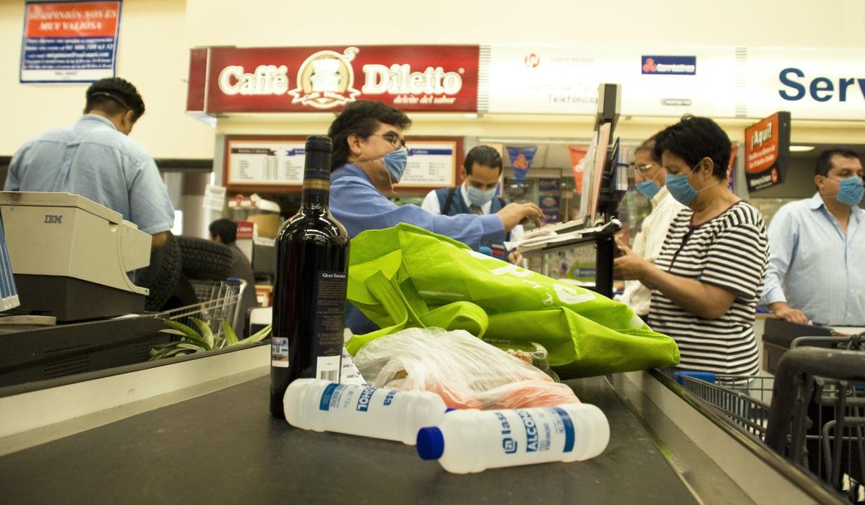 Maskit tulivat muotiin Meksikossa vuoden 2009 sikainfluenssaepidemian aikana.