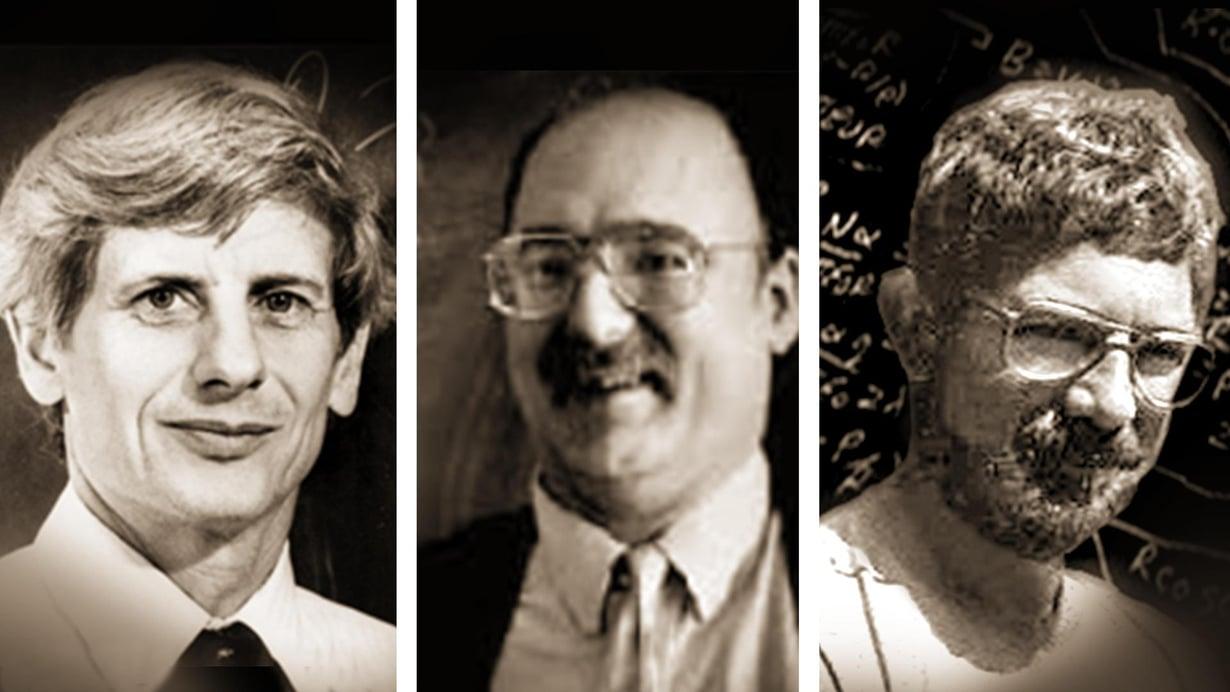 David Thouless, Duncan Haldane ja Michael Kosterlitz jakoivat fysiikan Nobelin palkinnon.