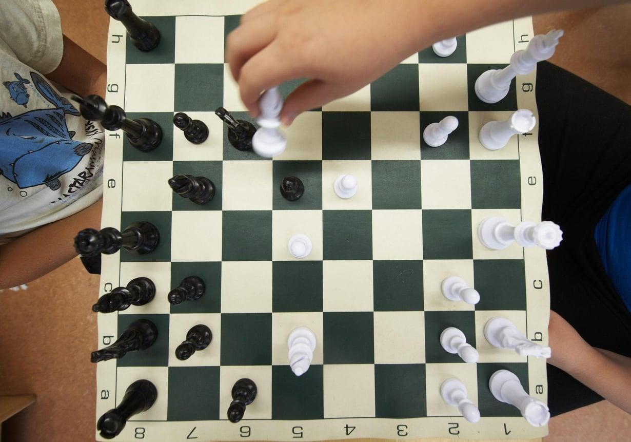 Valtaosa shakin pelaajista on miehiä. Kuva: Kimmo Räisänen