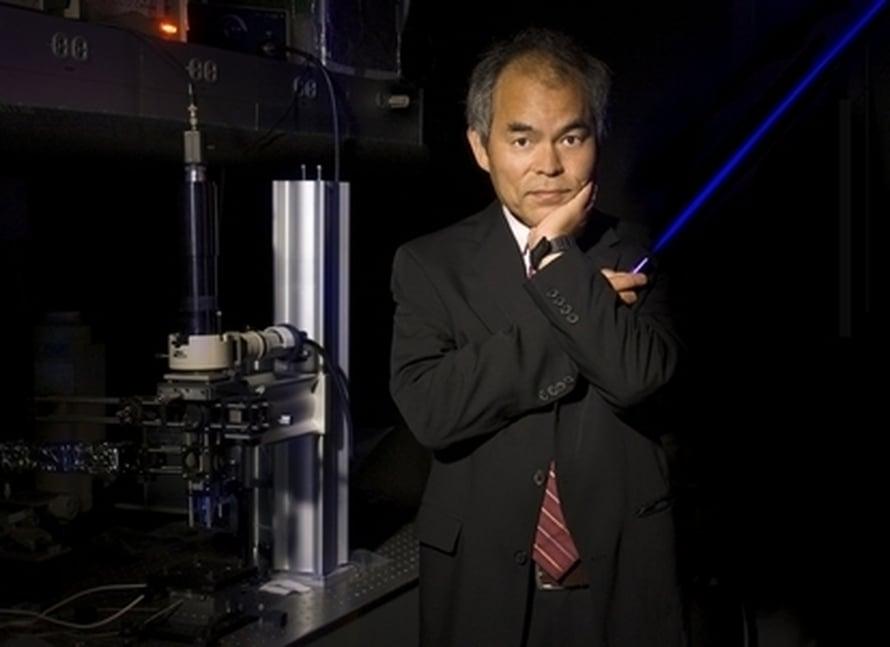 "Shuji Nakamura. Kuva: <span class=""photographer"">Randy Lamb, UCSB</span>"