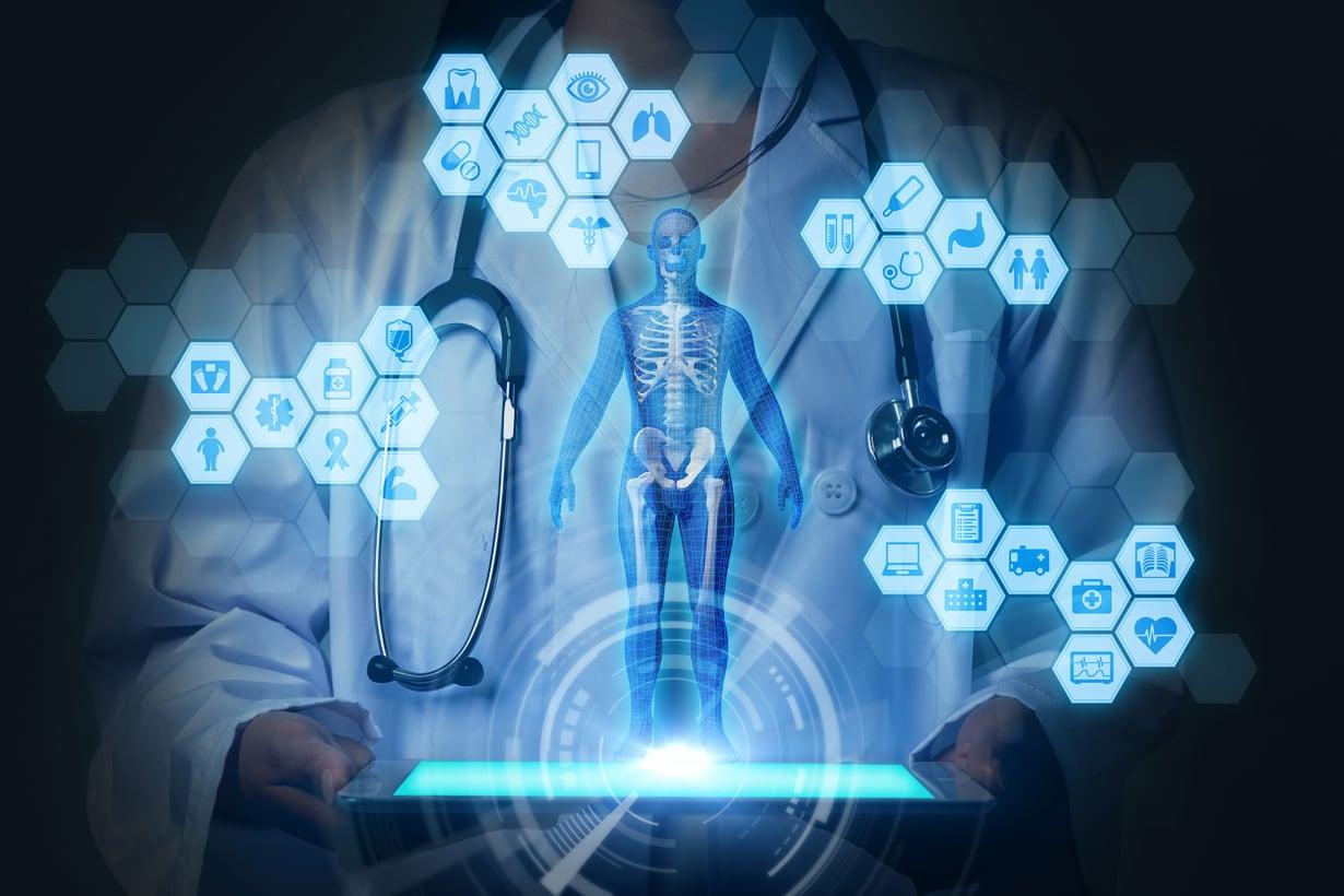 Tekoäly muuttaa jokaista ammattia. Esimerkiksi joissakin diagnooseissa se on jo lääkäriä nopeampi. Kuva: Getty Images