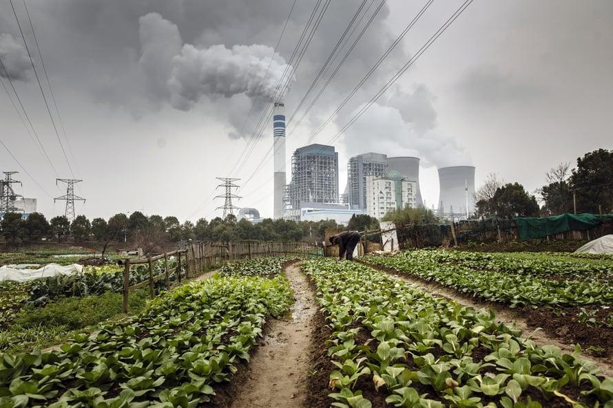 """Kiina päästää eniten hiilidioksidia ilmakehään. Kuva: <span class=""""photographer"""">Getty Images</span>"""