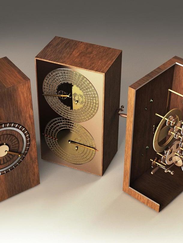 """Brittitutkijat mallinsivat Antikytheran mekanismin tietokoneella. Seuraavaksi tavoitteena on rakentaa laitteesta kopio nykyaikaisilla materiaaleilla. Kuva: <span class=""""photographer"""">JOSE ANTONIO PENAS / SCIENCE PHOTO LIBRARY</span>"""