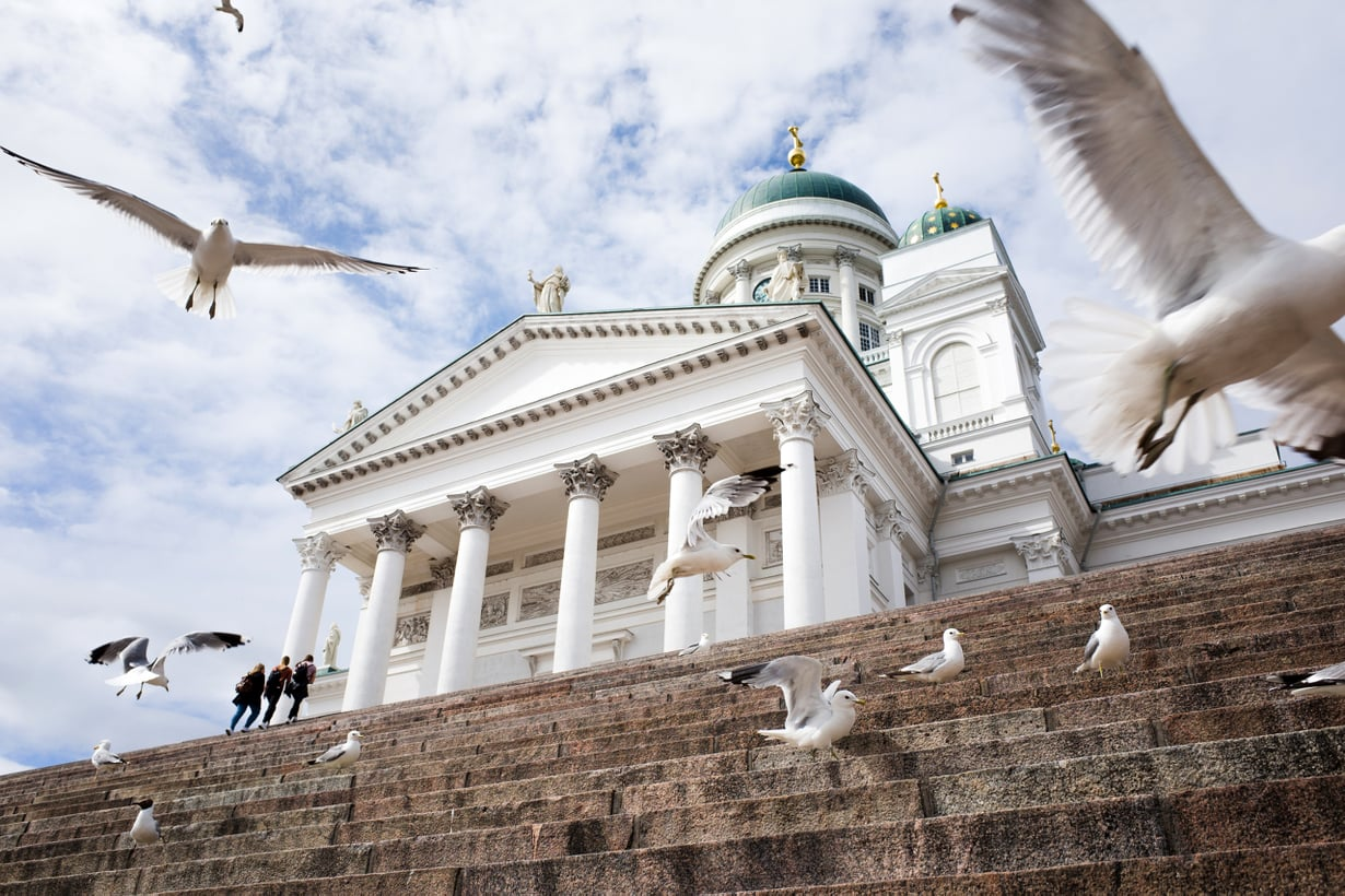 Suuntaus näkyy kirkoissakin. Kuva: iStock