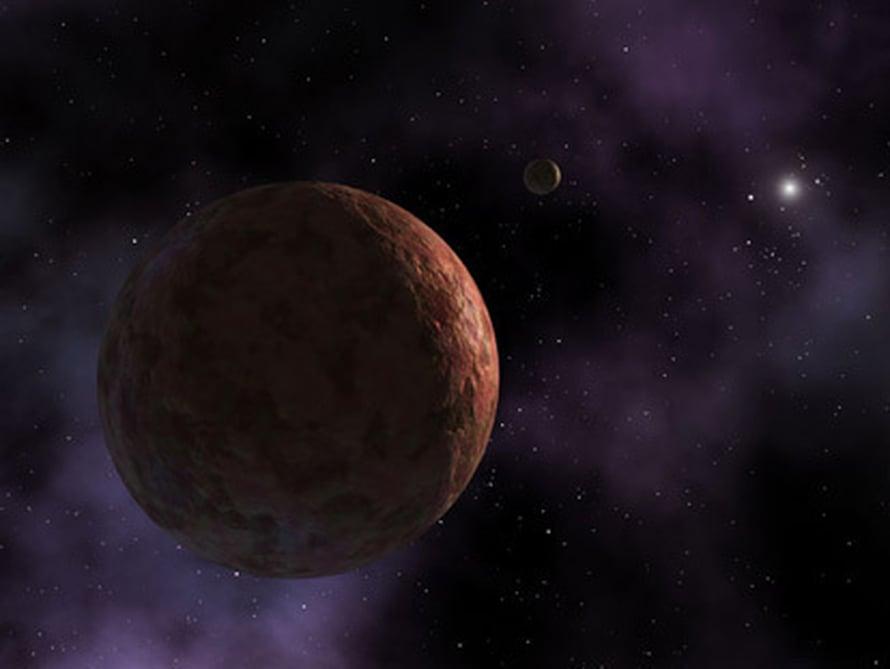 """Neptunuksen takana kiertää suuriakin murikoita, kuten Sedna. Kuva: <span class=""""photographer"""">Nasa</span>"""