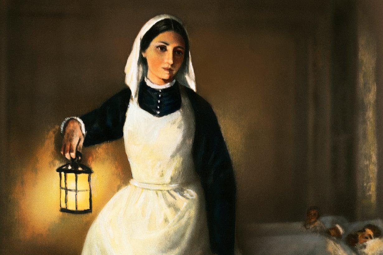 """""""Krimin enkeli"""" ei pitänyt idolin osastaan, mutta taipui siihen. Hän tiesi tekevänsä ison palveluksen niin naisille, maalleen kuin maailmalle. Kuva: Wikimedia Commons"""