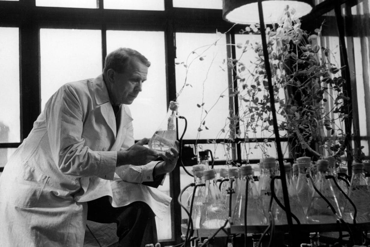 Ensimmäinen tiedenobelistimme päätti jo lukiossa tehdä jotain merkittävää. Tavoite huipentui maailman arvostetuimpaan tiedepalkintoon 1945. Kuva: Helsingin kaupunginmuseo