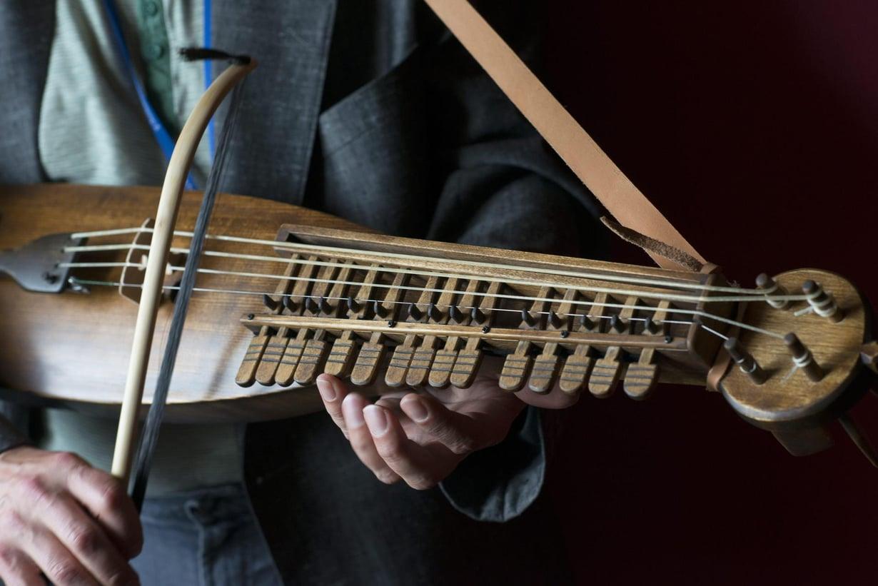 Musiikki kulkee suvussa. Kuva: Vesa Ranta