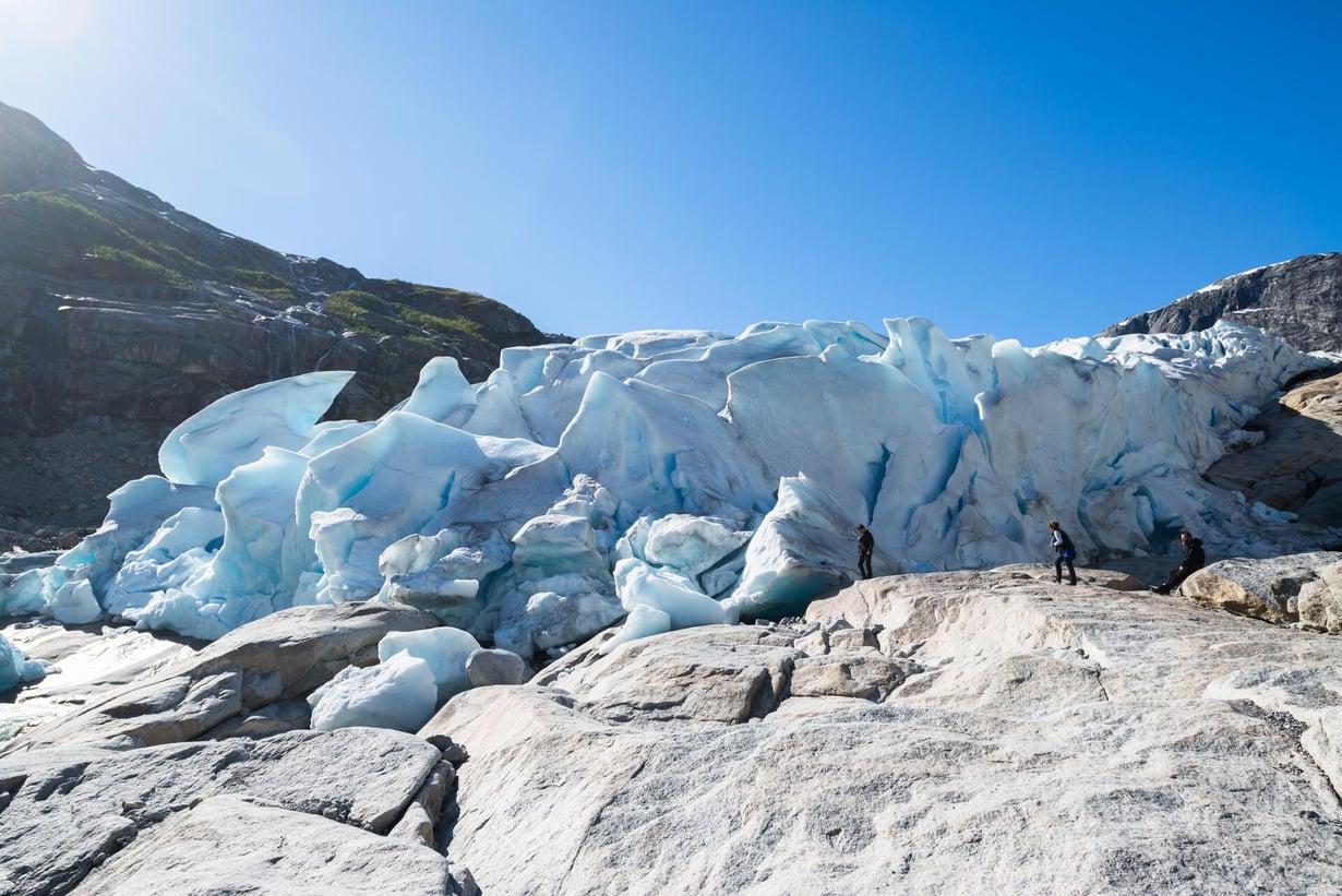 Nigardsbreenin jäätikkö Norjassa. Kuva: Shutterstock