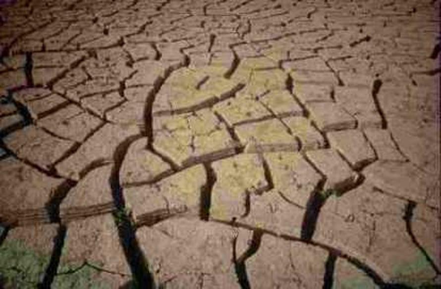 """Sahelin kuivuutta. Kuva: <span class=""""photographer"""">FAO.</span>"""
