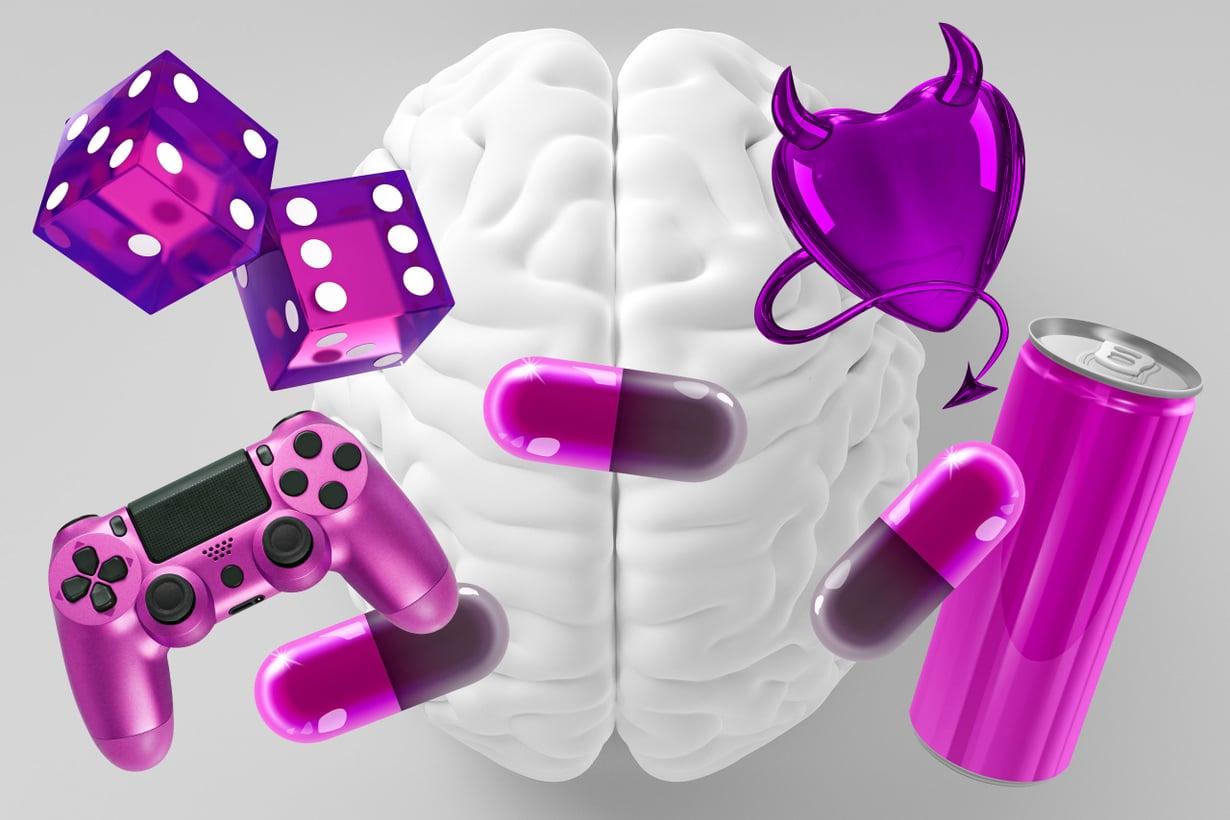 Aivot eivät erottele mielihyvän lähteitä. Kuva: Getty Images
